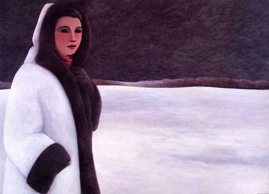 Моник Мерсье. Женщина зимой