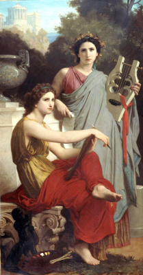 William-Adolphe Bouguereau. Art and literature
