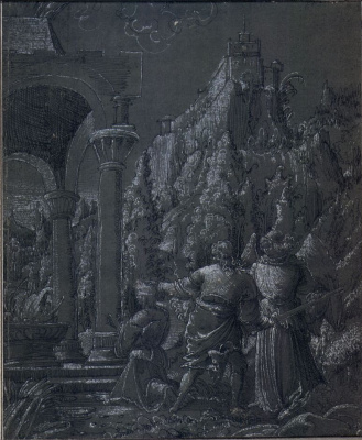 Albrecht Altdorfer. The Sacrifice Of Abraham
