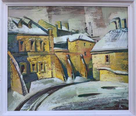 Igor Shvachunov. Streets in the old town