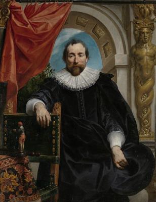Jakob Jordaens. Portrait of Rogier Le Viter