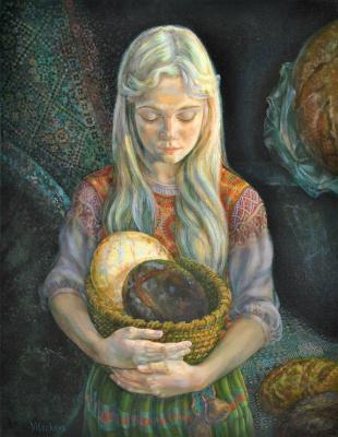 Снежана Казимировна Витецкая Viteckaja. Five loaves