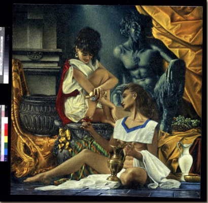 Уолтер Гиротто. Девушки и скульптура