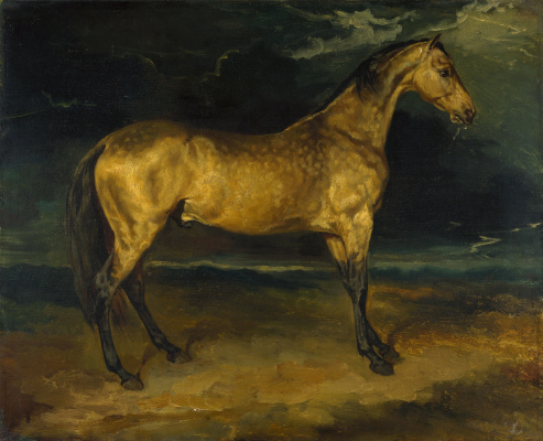Théodore Géricault. Scared horse