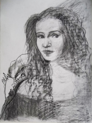 Lyubov Sycheva. Portrait of the actress