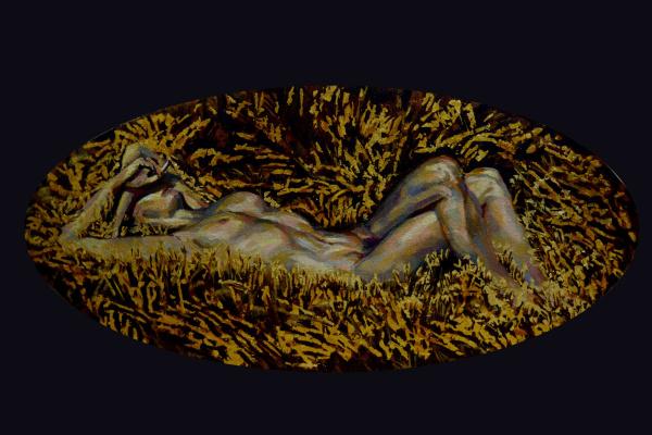 Мария Дроздова. Безмятежность золотой травы / Serenity golden grass