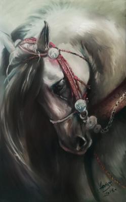 Olga Yuryevna Serebrova-Artes. Horse