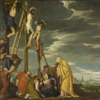 Paolo Veronese. Calvary. Crucifixion of Christ