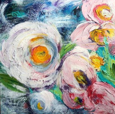 Olena Gubska Gubska Olena. Cosmic flowers