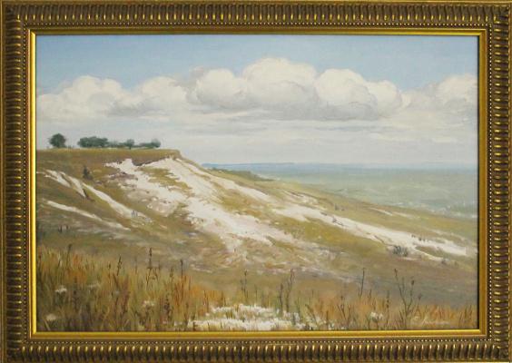 Евгений Геннадиевич Лактионов. Mother of God. Chalk mountains.