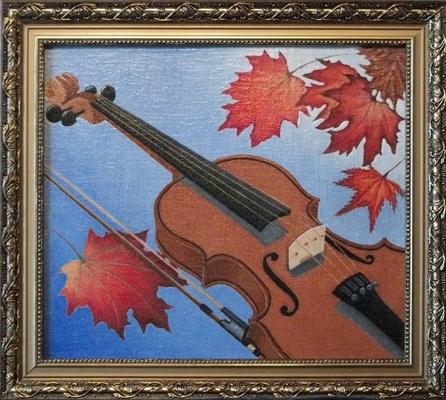Victor Petrovich Burmin. Autumn motive.