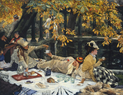 James Tissot. Picnic