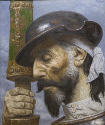 Heliy Mikhailovich Korzhev. Don Quixote. Doubt