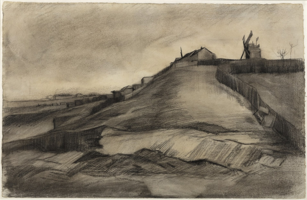 Vincent van Gogh. The Hill of Montmartre with Stone Quarry