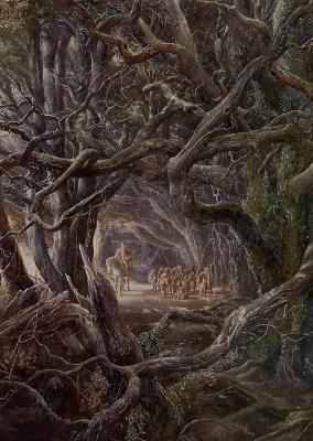 Алан Ли. У лесных ворот