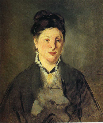Edouard Manet. Portrait Of Suzanne Manet