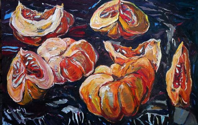 Alexandra Sirbu. Pumpkin