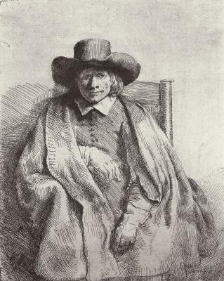 Рембрандт Харменс ван Рейн. Портрет Клемента де Йонге