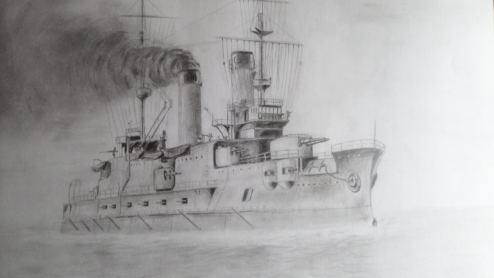Илья Геннадьевич Борисов. Ship in the fog