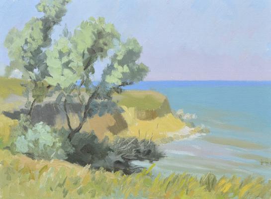 "Artur Petrovich Yatsenko. ""Olive"" (Sketch)"