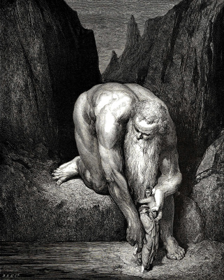 Paul Gustave Dore. Antey