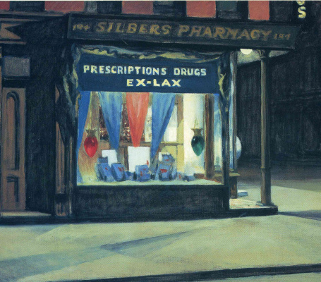 Edward Hopper. Pharmacy