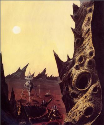 Ричард Пауэрс. На Марсе