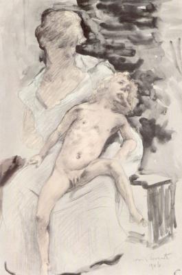 Lovis Corinto. The Childhood Of Zeus