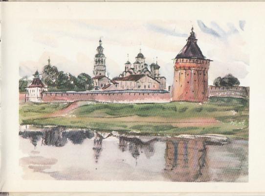 Emmanuel Bentsionovich Bernstein. Savior-Priluchky monastery