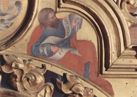 Gentile da Fabriano. The Prophet Micah