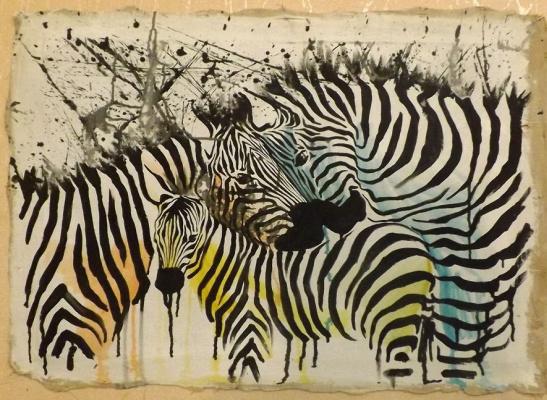 Serg laisk. The zebroid