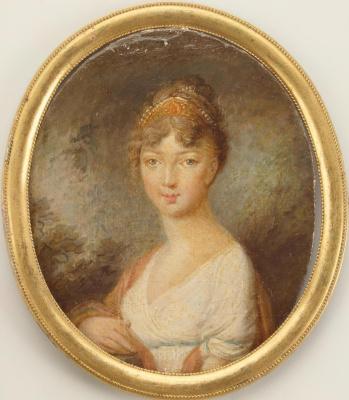 Vladimir Lukich Borovikovsky. Portrait of Empress Elizabeth Alexeyevna