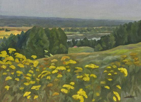 Andrei Ivanovich Borisov. Joyful landscape