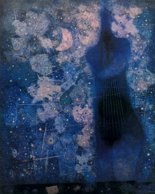 Mordechai Ardon. Silhouette
