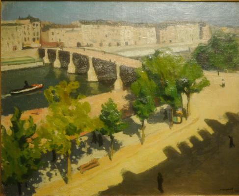 Albert Marquet. Waterfront...