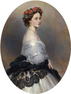 Franz Xaver Winterhalter. Princess Alice, later Grand Duchess of Hesse