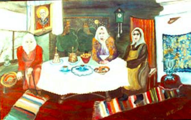 Vasily Vasilyevich Grigoryev. Girlfriends