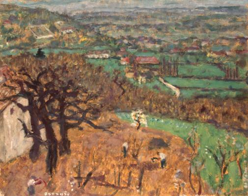 Пьер Боннар. Пейзаж в Дофине
