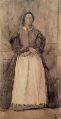 Edgar Degas. Portrait Of Rose Adelaide, Morbilli