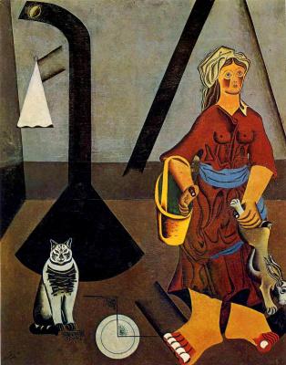 Joan Miro. The farmer's wife