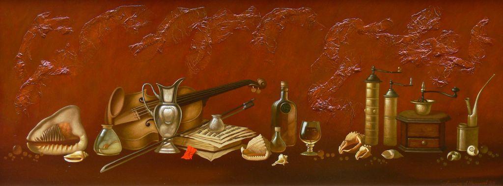 Alexander Melnikov. Evening mood. 2011