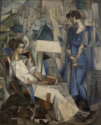 Диего Мария Ривера. Две женщины