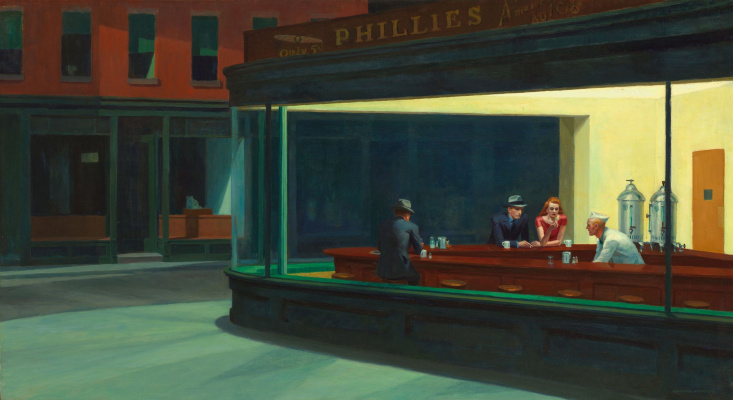Edward Hopper. Nighthawks