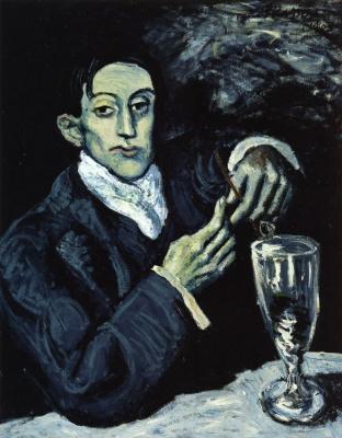 Пабло Пикассо. Портрет Анхеля Фернандеса де Сото