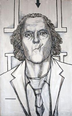 Alexander Ivanovich Elmar. Portrait of Yevgeny Golovin