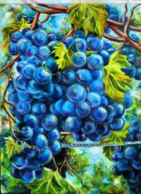 Nadezhda Anatolyevna Poleva. Grapes