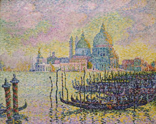 Paul Signac. The Grand canal in Venice