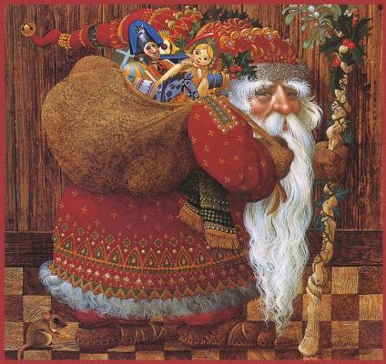 Джеймс Кристенсен. Старый Санта