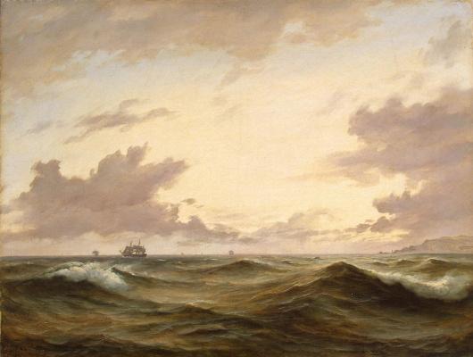 Антон Мельби. Морской вид