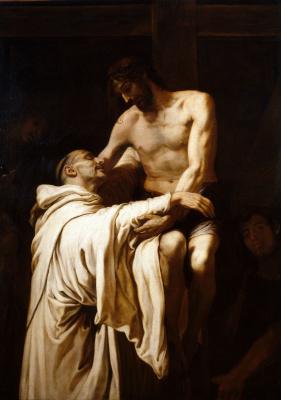 Франсиско Рибальта. Явление Христа св. Бернарду